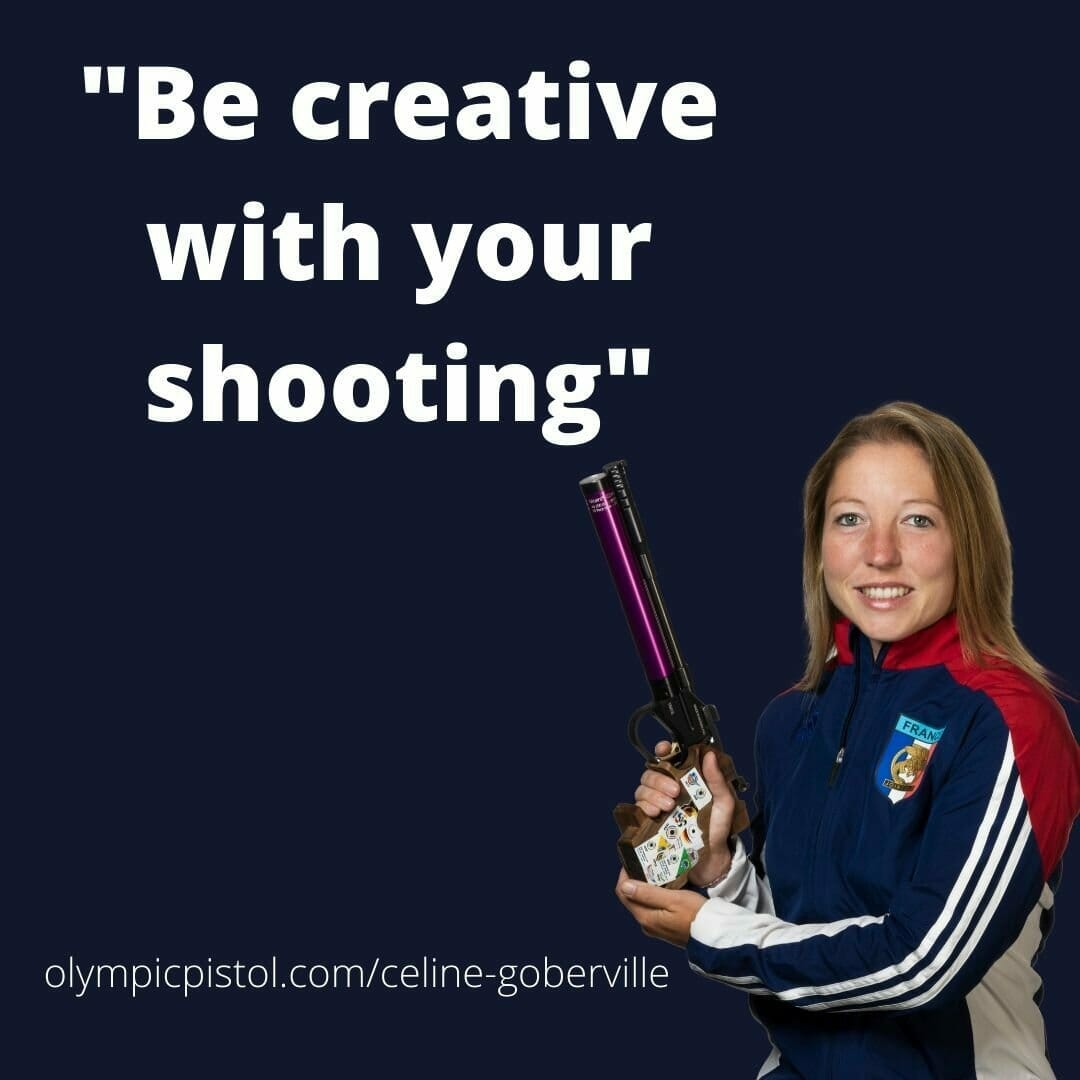 """Celine says: """"be creative with your shooting"""""""